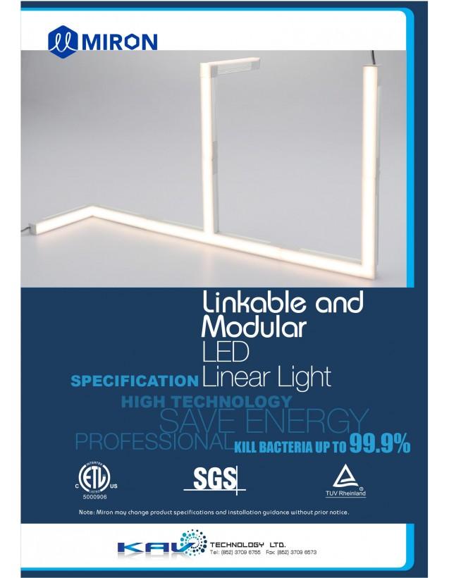 Linkable and Modular LED Linear Light